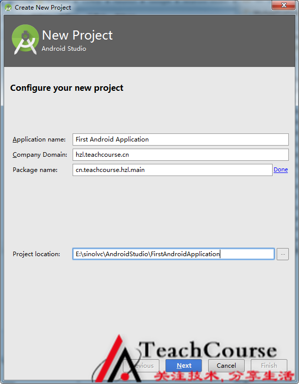 001-First Android Studio Project